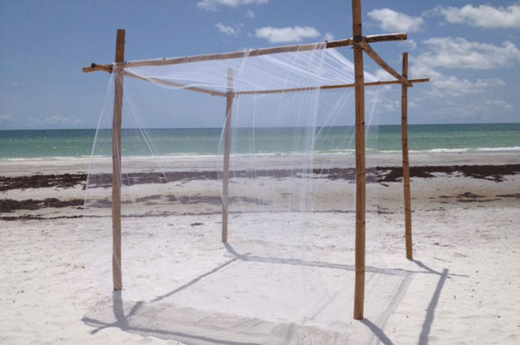 Gulf Coast Party and Event Rental beach