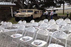 Gulf Coast Party and Event Rental chairs