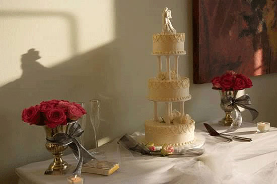 Gulf Coast Party and Event Rental wedding cake table
