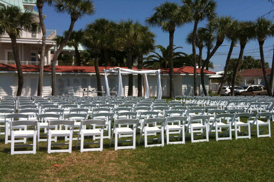 Gulf Coast Party and Event Rental outdoor weddings
