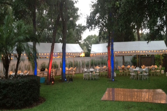 Gulf Coast Party and Event Rental wedding